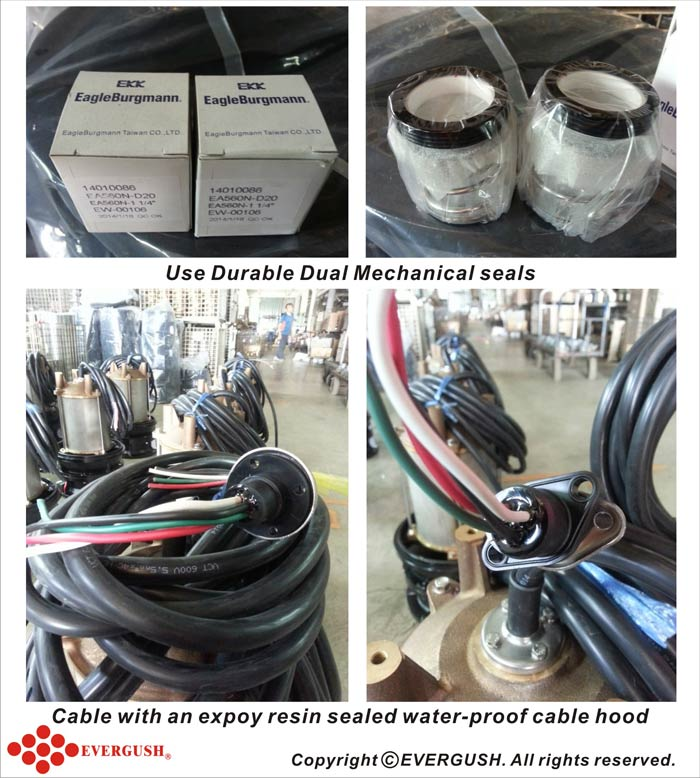 use durable dual mechanical seals
