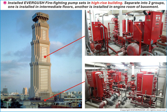 EVERGUSH FIRE PUMP SETS FOR HIGH-RISE BUILDING