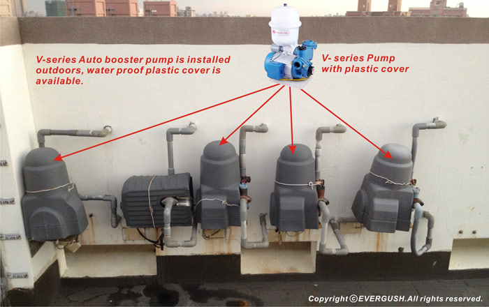 Installation of EVERGUSH V-series Pump