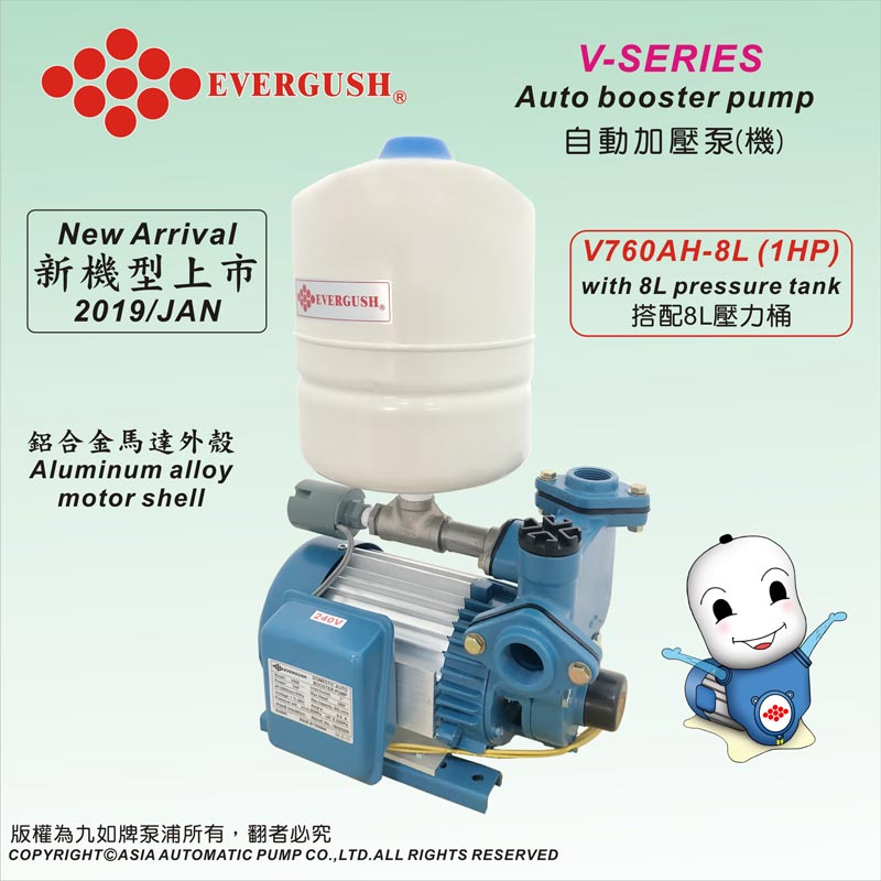 V Series Auto Booster Pumps Welcome To Evergush Pump Genset