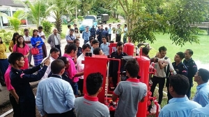EVERGUSH hosted Fire-fighting pump exhibition in Myanmar-2014.11.12