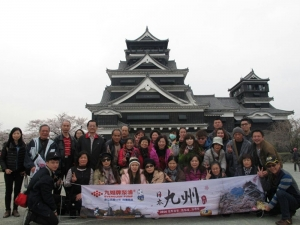 EVERGUSH hosted tours in Kyushu, Japan.(2016.March.17~April 2)