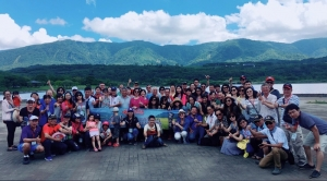 EVERGUSH hosted the TOP Elite Sales Consultant Awards Ceremony & tour activities in Taitung, east of Taiwan(2017/SEP/8~9)